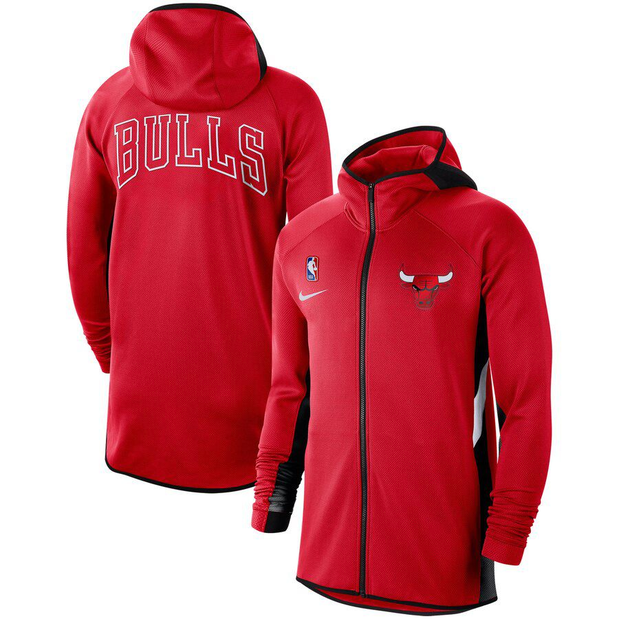 Jaqueta Nike Chicago Bulls Authentic Showtime Therma Flex