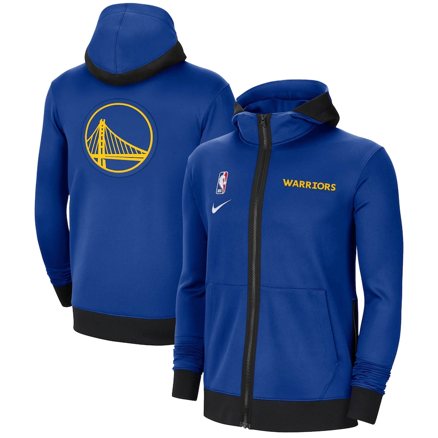 Jaqueta Nike Golden State Warriors Authentic Showtime Performance Full-Zip