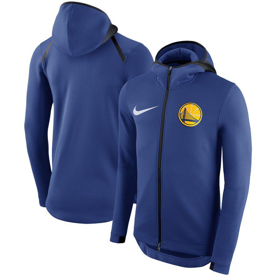 Jaqueta Nike Golden State Warriors Showtime Therma Flex