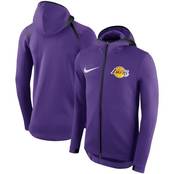 Jaqueta Nike Los Angeles Lakers Showtime Therma Flex