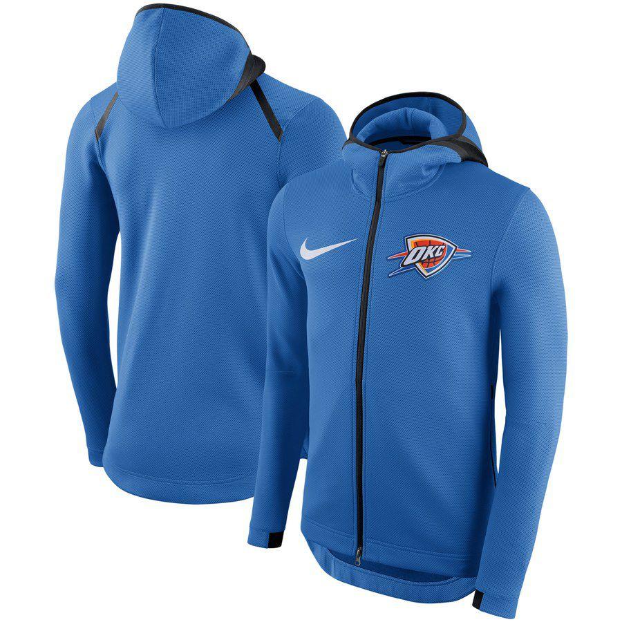 Jaqueta Nike Oklahoma City Thunder Showtime Therma Flex