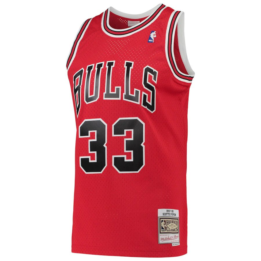 Regata Clássica Mitchell & Ness Chicago Bulls 1997/98 Swingman