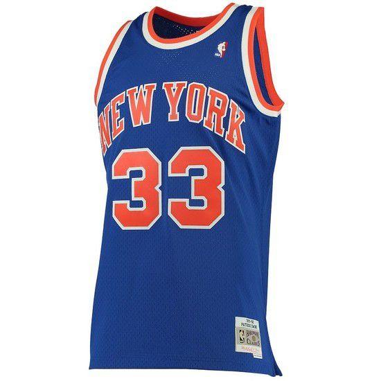 Regata Clássica Mitchell & Ness New York Knicks Swingman - Azul