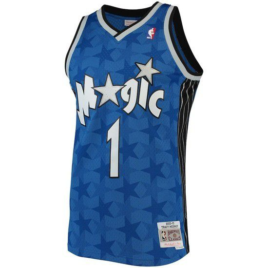 Regata Clássica Mitchell & Ness Orlando Magic Swingman - Azul
