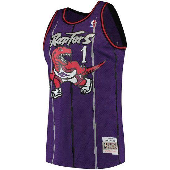 Regata Clássica Mitchell & Ness Toronto Raptors Swingman - Roxo