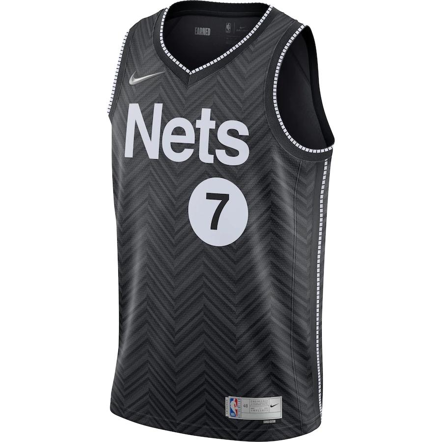 Regata Nike Brooklyn Nets Earned Edition 2020/21 Swingman