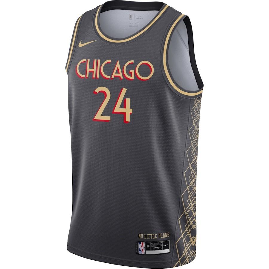 Regata Nike Chicago Bulls City Edition 2020/21 Swingman