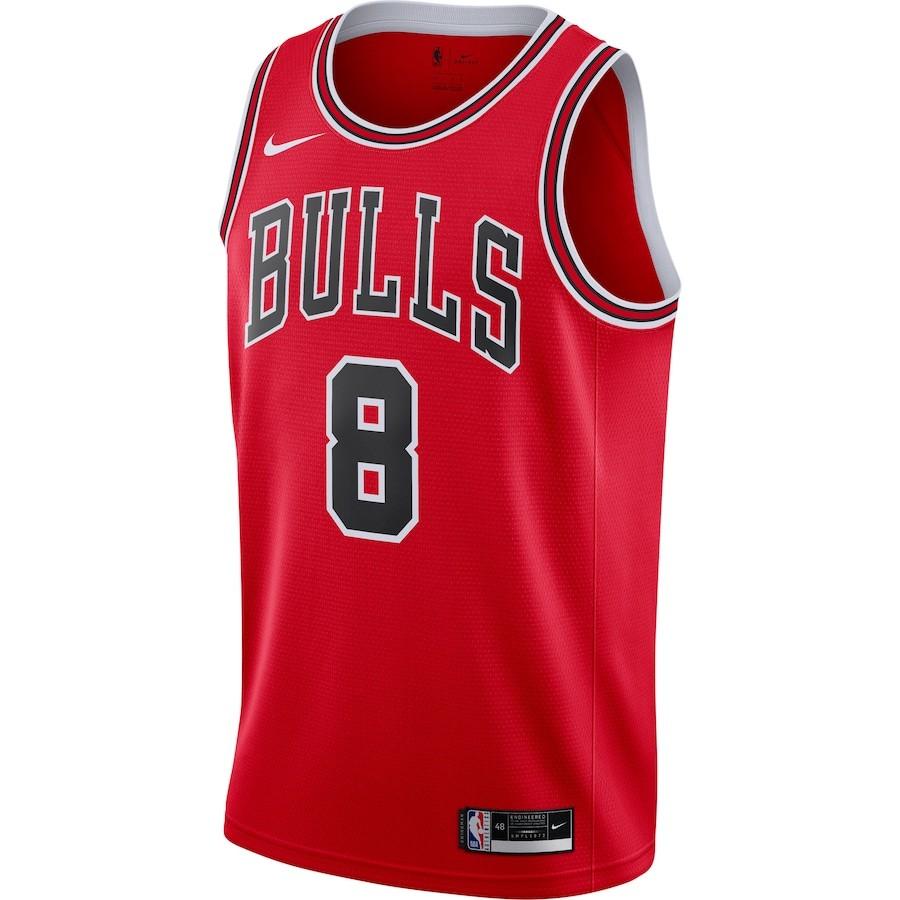 Regata Nike Chicago Bulls Icon Edition 2020/21 Swingman