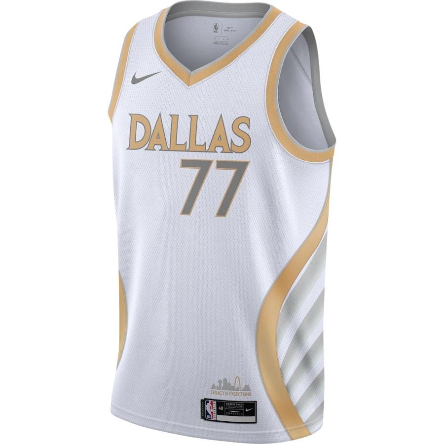 Regata Nike Dallas Mavericks City Edition 2020/21 Swingman
