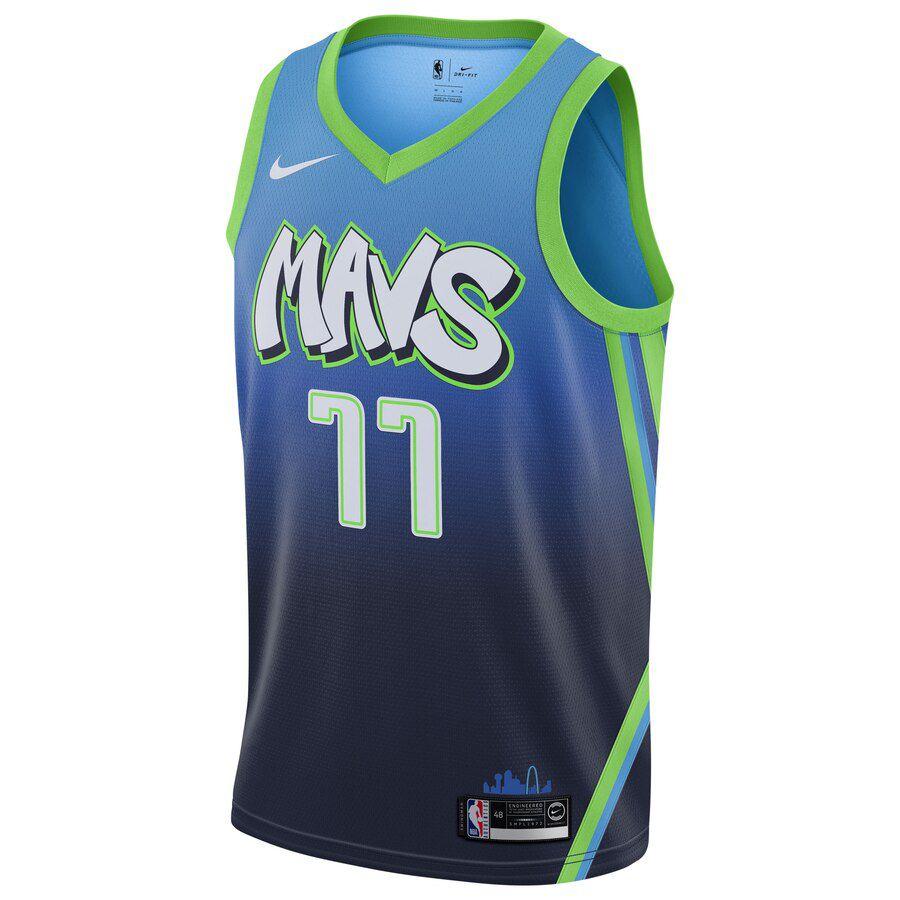 Regata Nike Dallas Mavericks City Edition 2019/20 Swingman