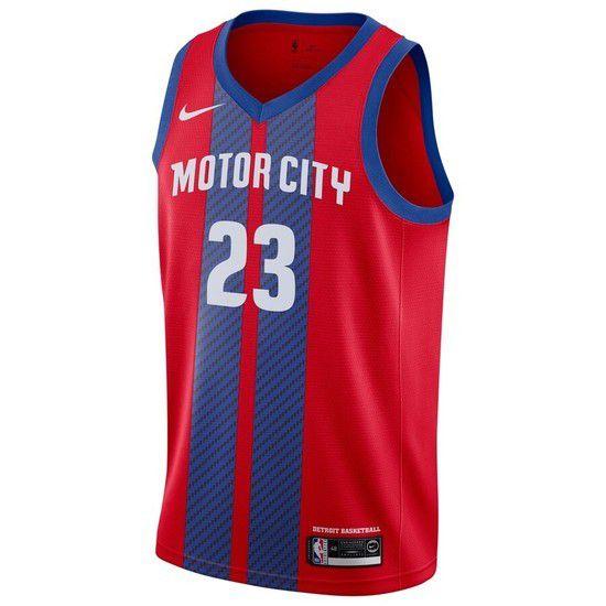 Regata Nike Detroit Pistons City Edition 2019/20 Swingman