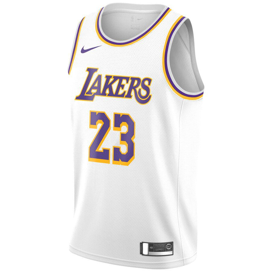 Regata Nike Los Angeles Lakers Association Edition 2019/20 Swingman