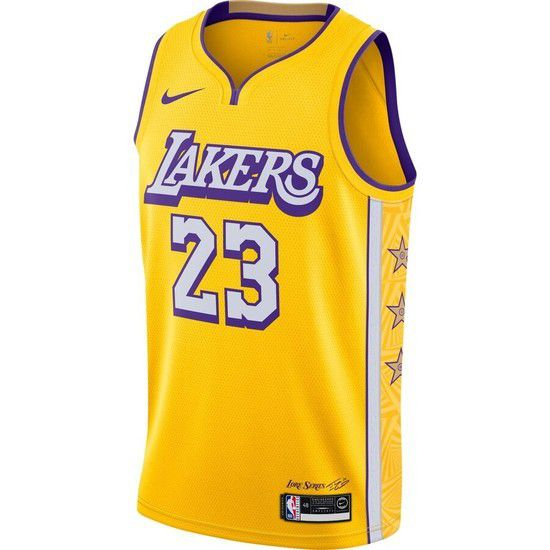 Regata Nike Los Angeles Lakers City Edition 2019/20 Swingman