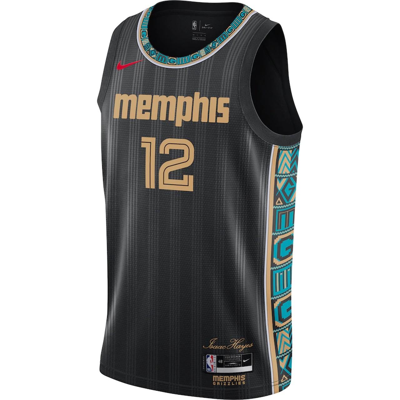 Regata Nike Memphis Grizzlies City Edition 2020/21 Swingman