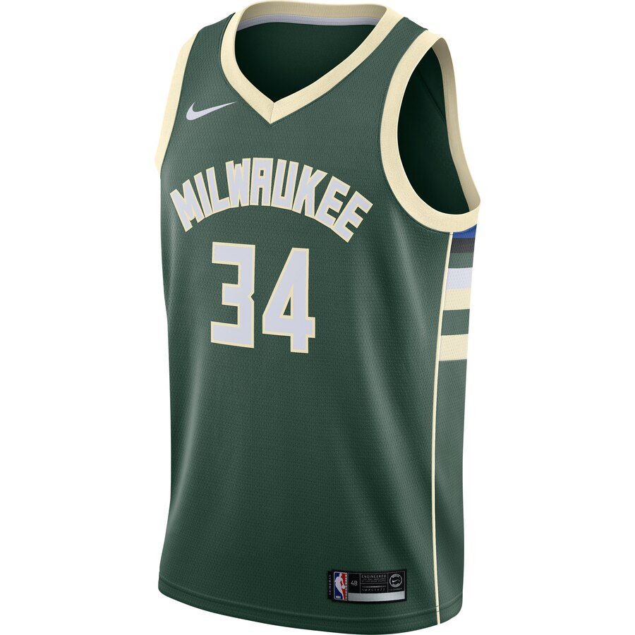 Regata Nike Milwaukee Bucks Icon Edition 2019/20 Swingman