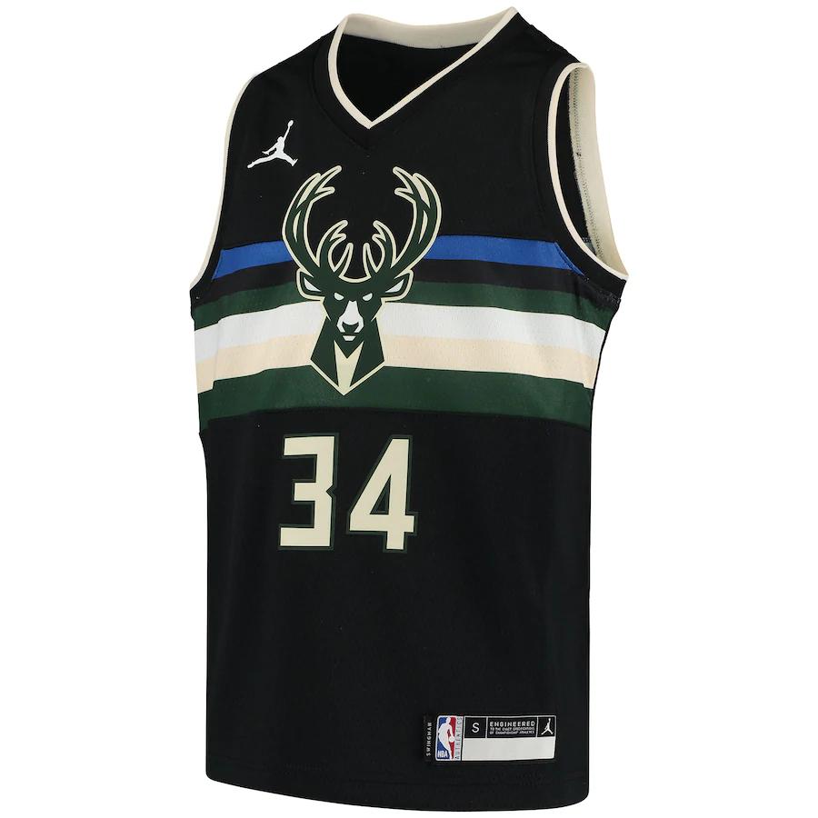 Regata Nike Milwaukee Bucks Statement Edition 2020/21 Swingman