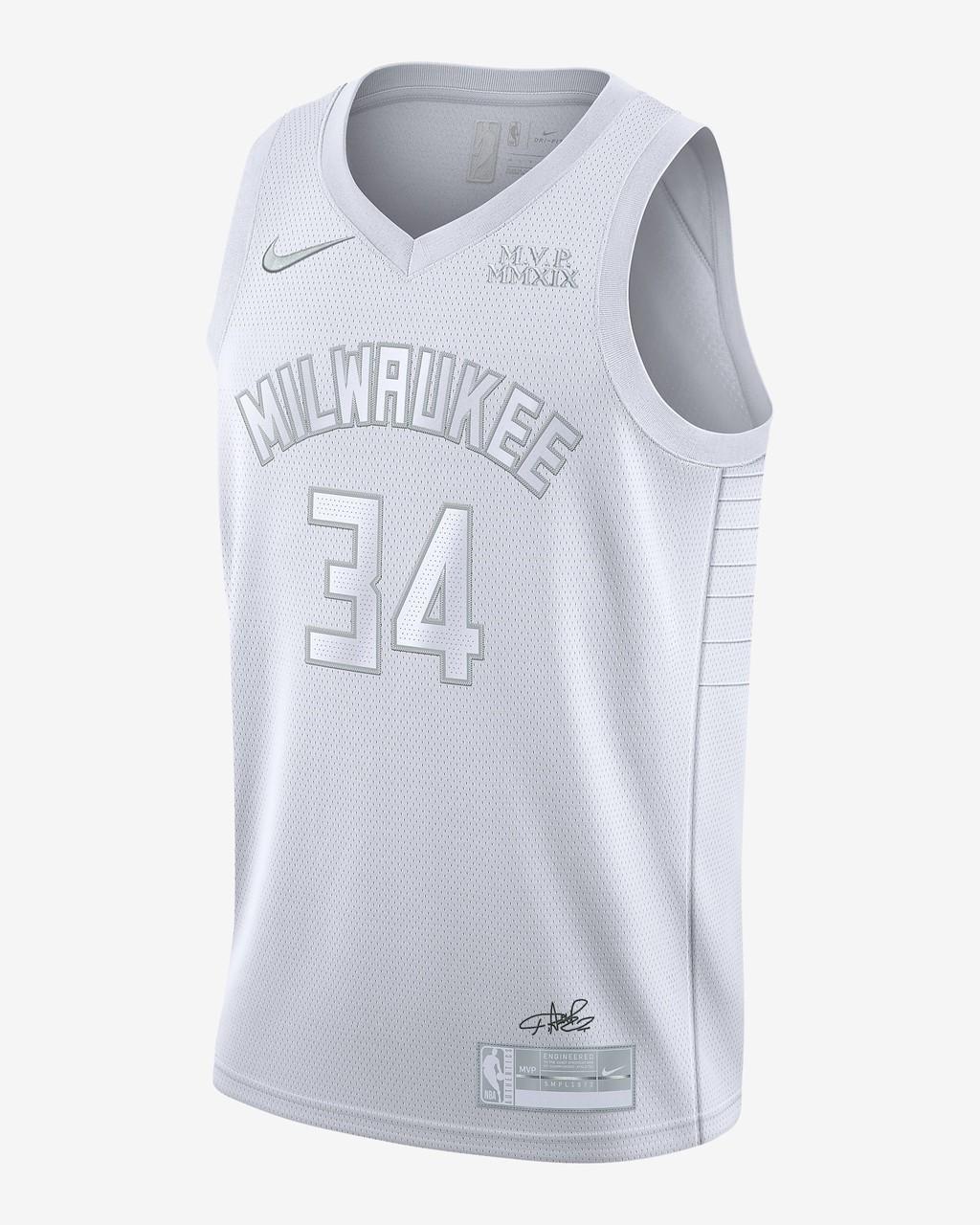 Regata Nike NBA Bucks Giannis Antetokounmpo MVP - 2020