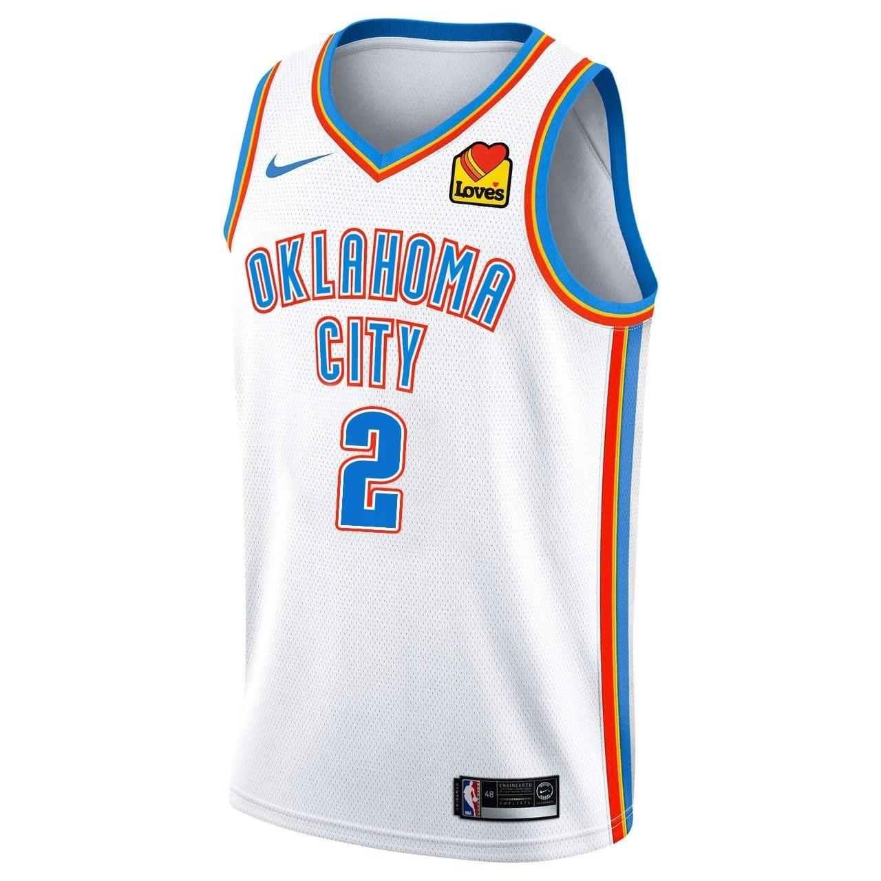 Regata Nike Oklahoma City Thunder Association Edition 2020/21 Swingman