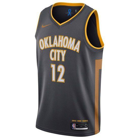 Regata Nike Oklahoma City Thunder City Edition 2019/20 Swingman