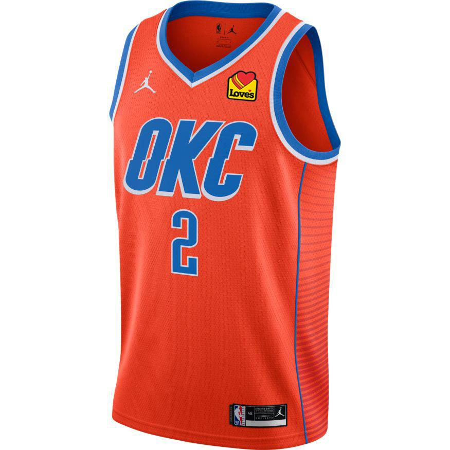 Regata Nike Oklahoma City Thunder Statement Edition 2020/21 Swingman