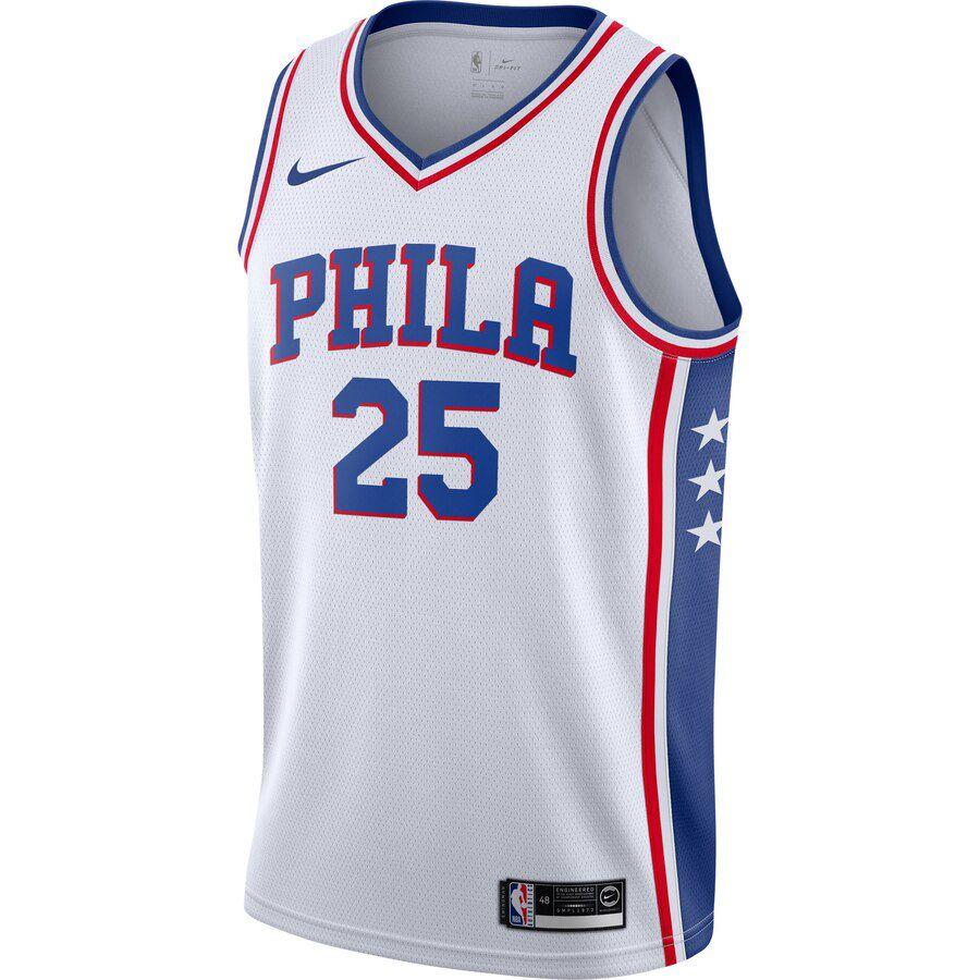 Regata Nike Philadelphia 76ers Association Edition 2019/20 Swingman