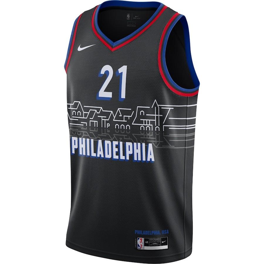 Regata Nike Philadelphia 76ers City Edition 2020/21 Swingman