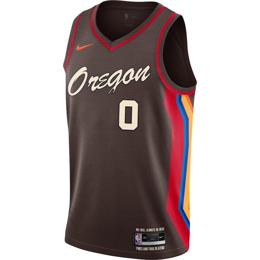 Regata Nike Portland Trail Blazers City Edition 2020/21 Swingman