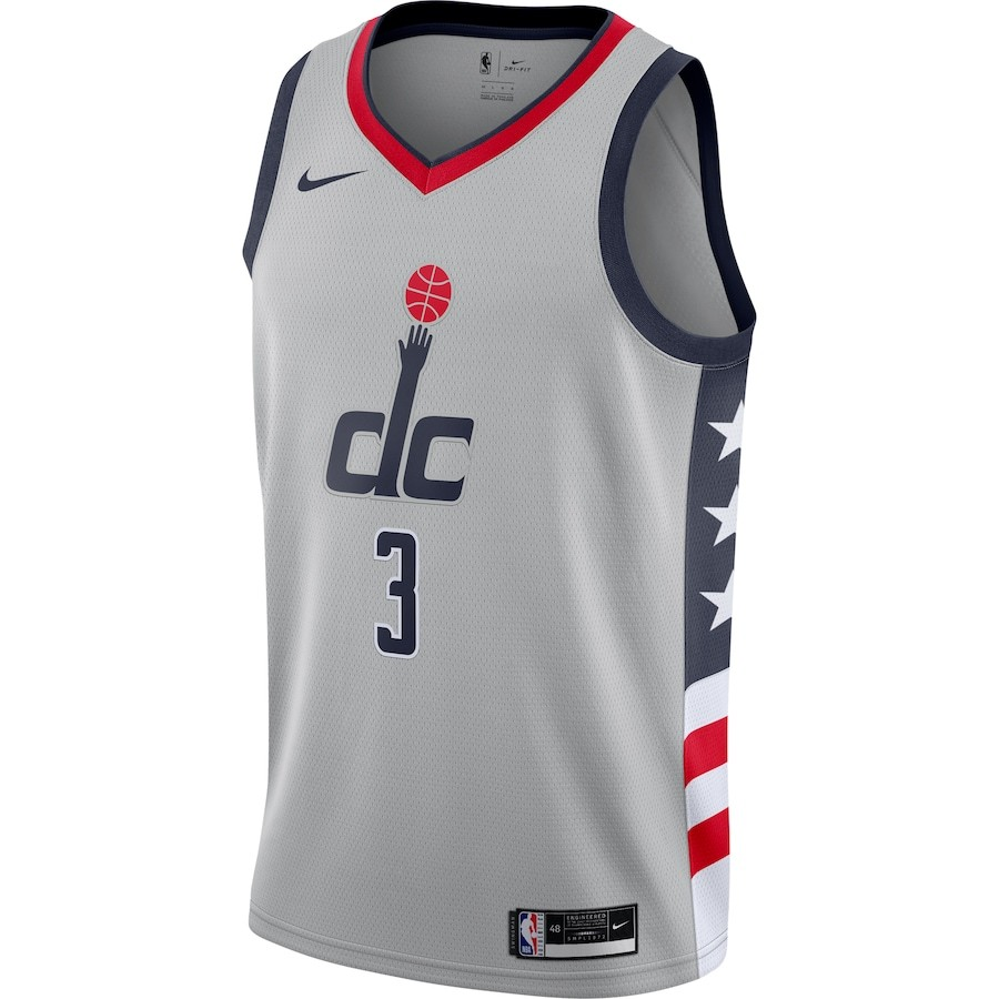 Regata Nike Washington Wizards City Edition 2020/21 Swingman