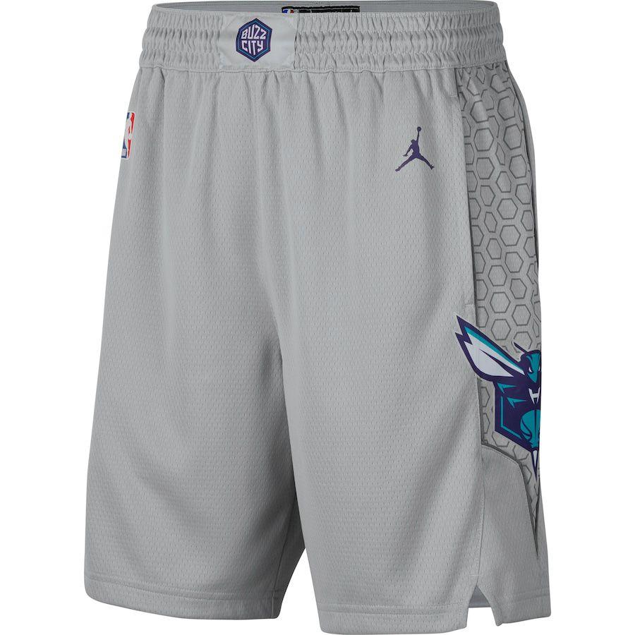 Short Jordan Charlotte Hornets  City Edition Swingman Masculino