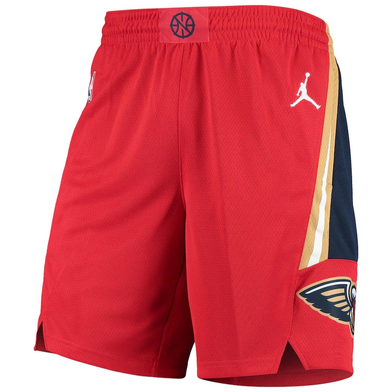 Short Jordan New Orleans Pelicans Statment Edition Swingman Masculino