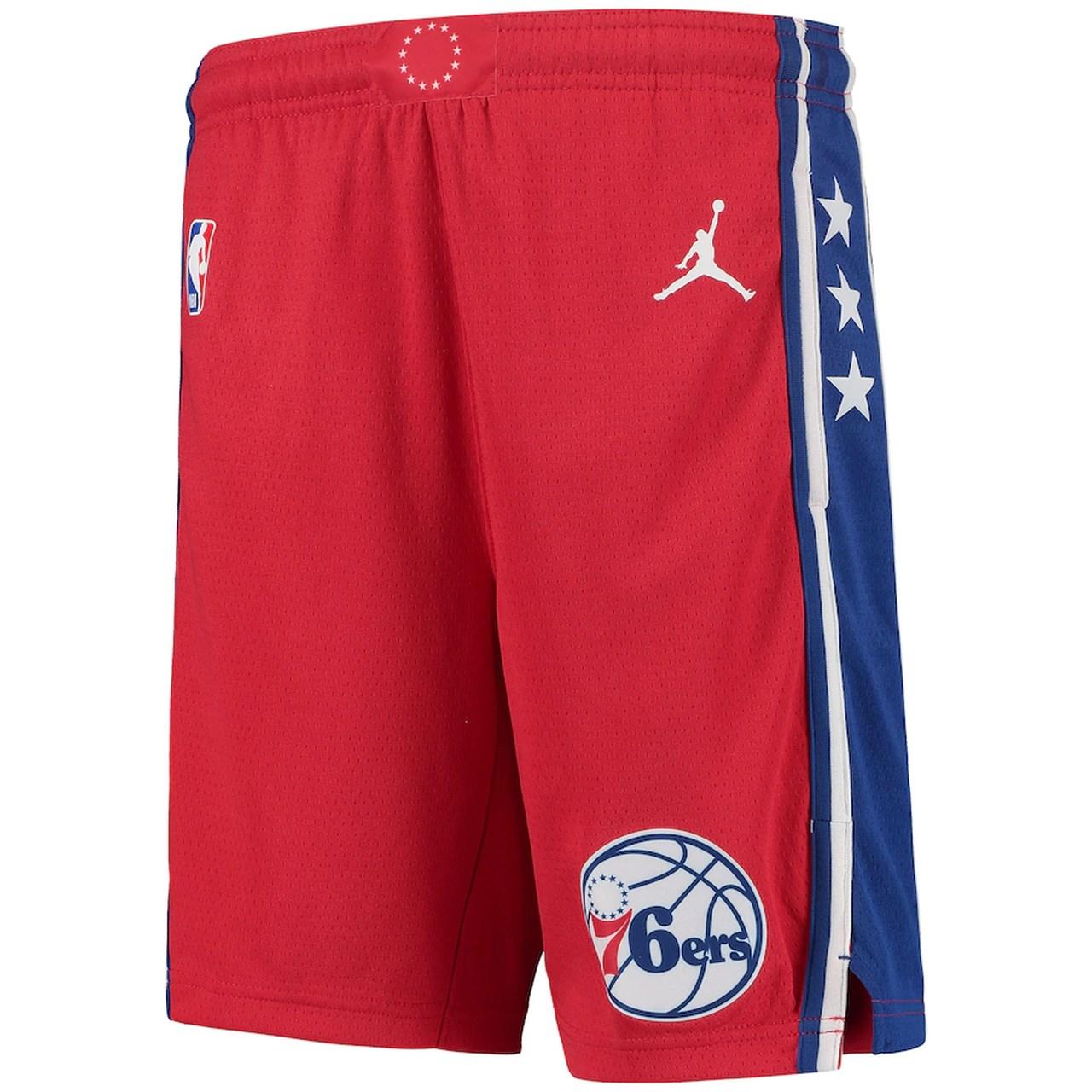 Short Jordan Philadelphia 76ers Statement Edition Swingman Masculino