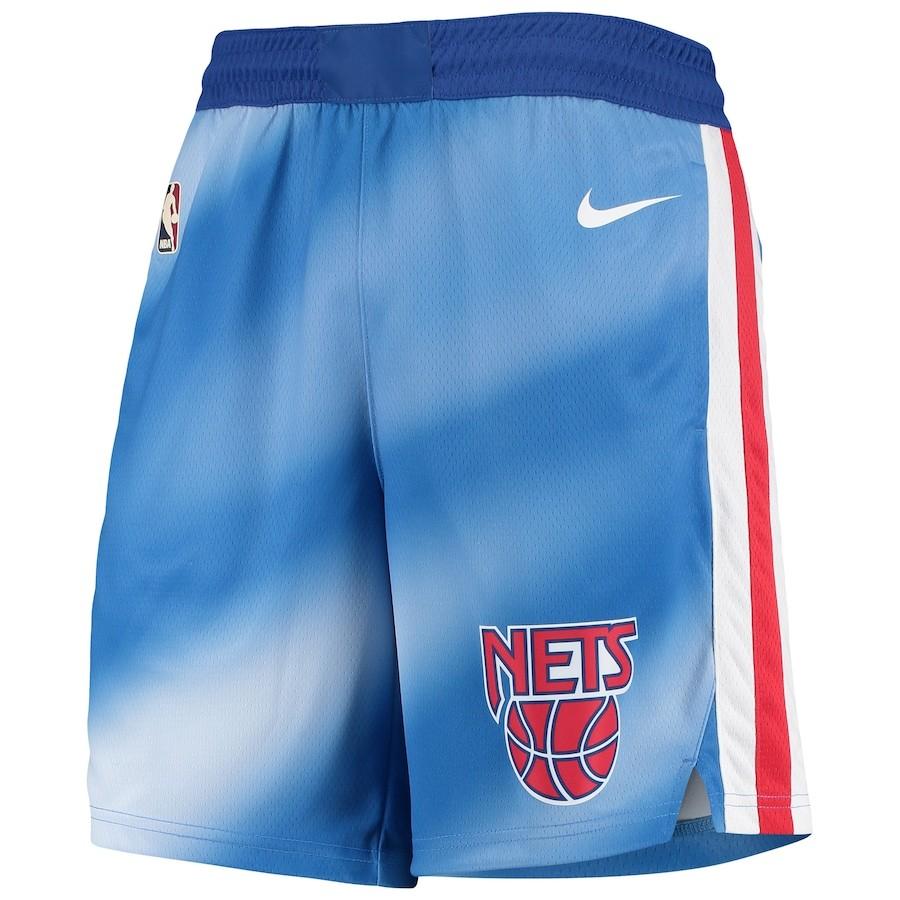 Short Nike Brooklyn Nets Hardwood Classics 2020/21 Swingman Masculino