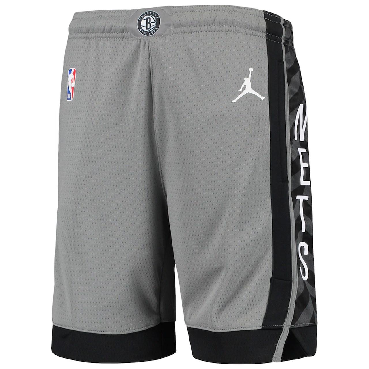 Short Jordan Brooklyn Nets Statment Edition Swingman Masculino