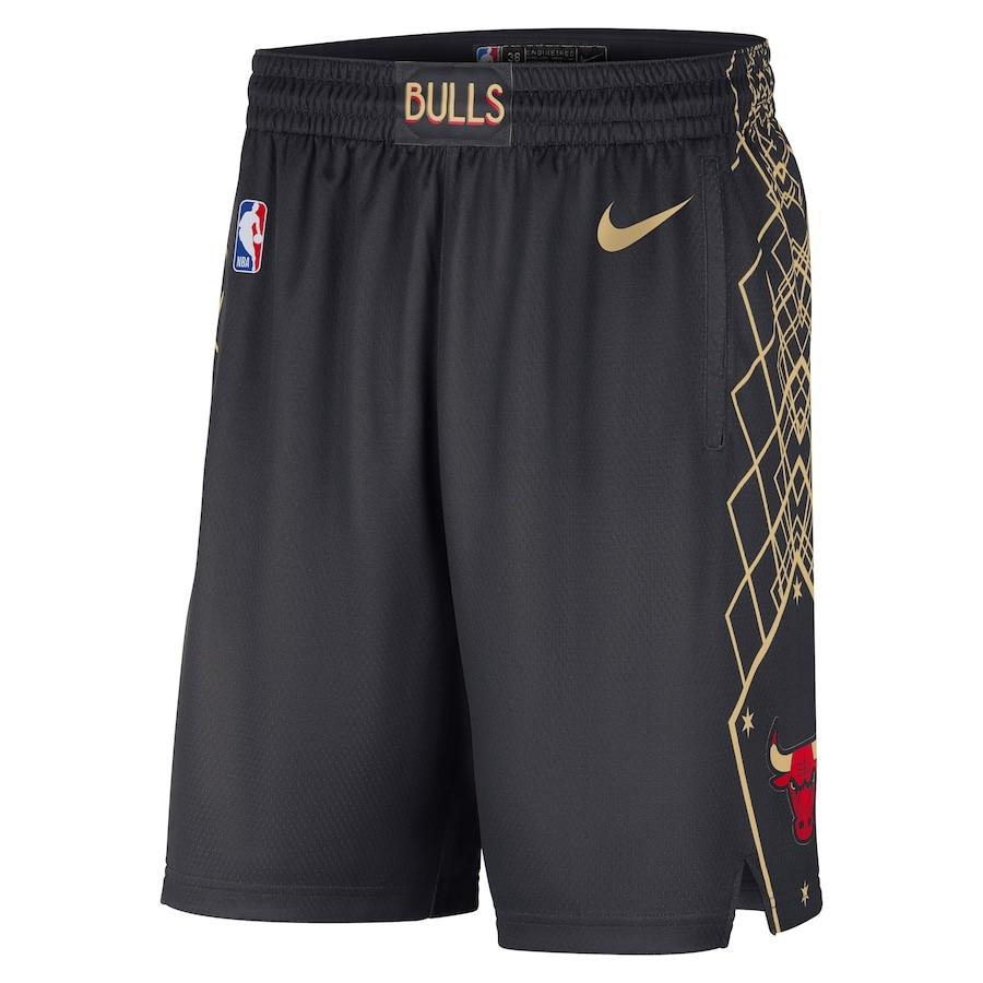 Short Nike Chicago Bulls City Edition 2020/21 Swingman Masculino