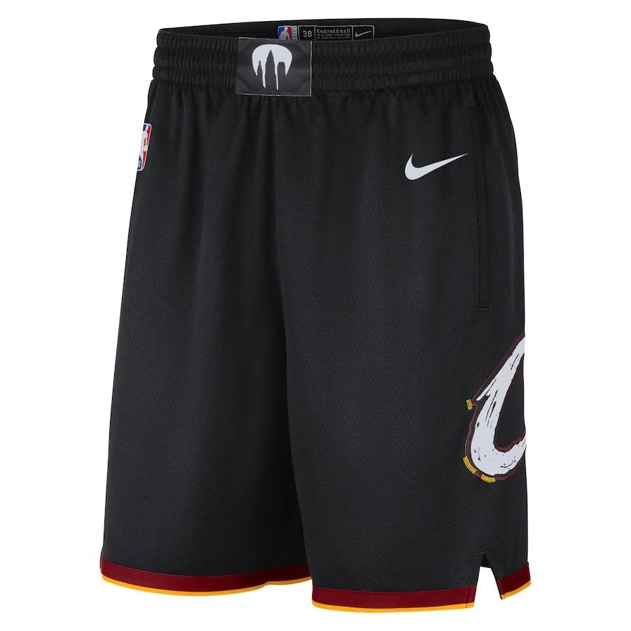 Short Nike Cleveland Cavaliers City Edition 2020/21 Swingman Masculino