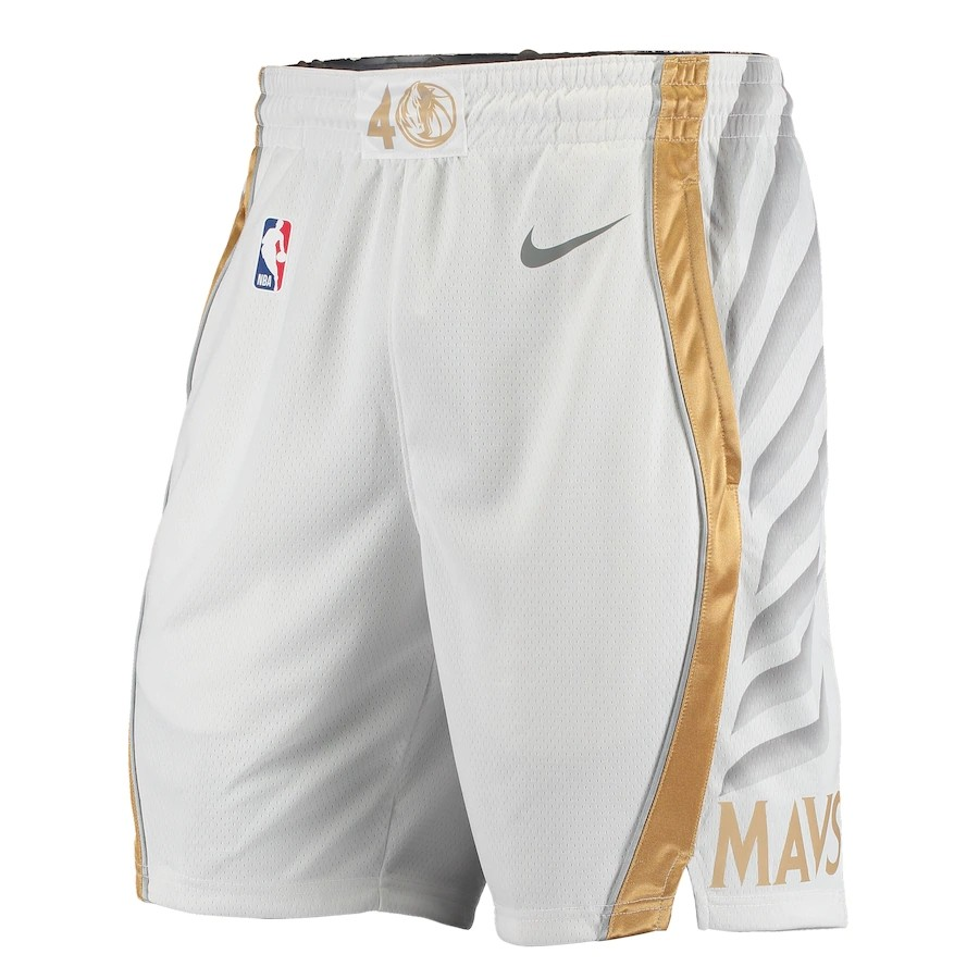 Short Nike Dallas Mavericks City Edition 2020/21 Swingman Masculino