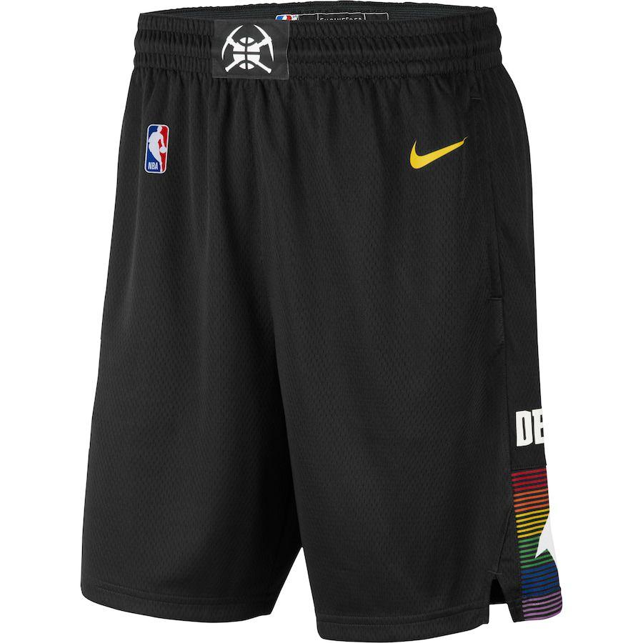 Short Nike Denver Nuggets City Edition Swingman Masculino