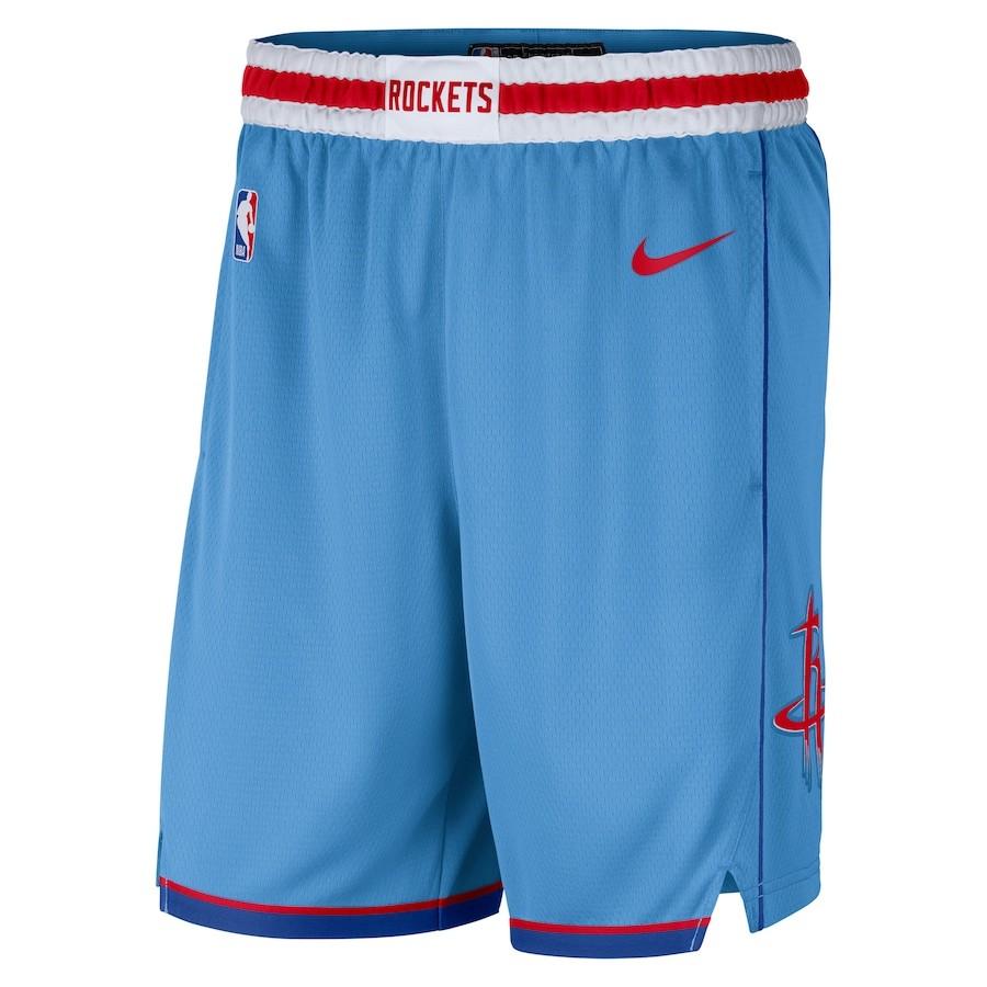 Short Nike Houston Rockets City Edition 2020/21 Swingman Masculino