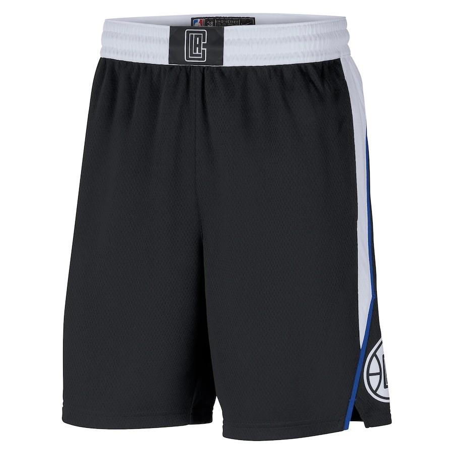 Short Nike LA Clippers City Edition 2020/21 Swingman Masculino