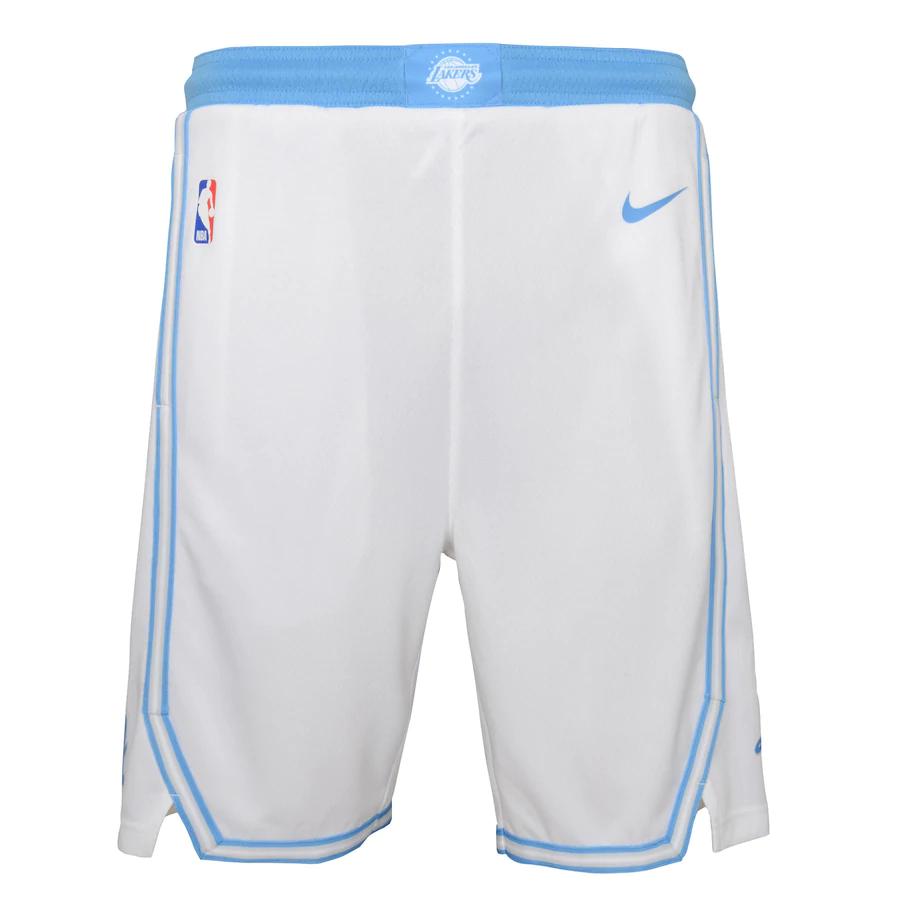 Short Nike Los Angeles Lakers City Edition 2020/21 Swingman Masculino