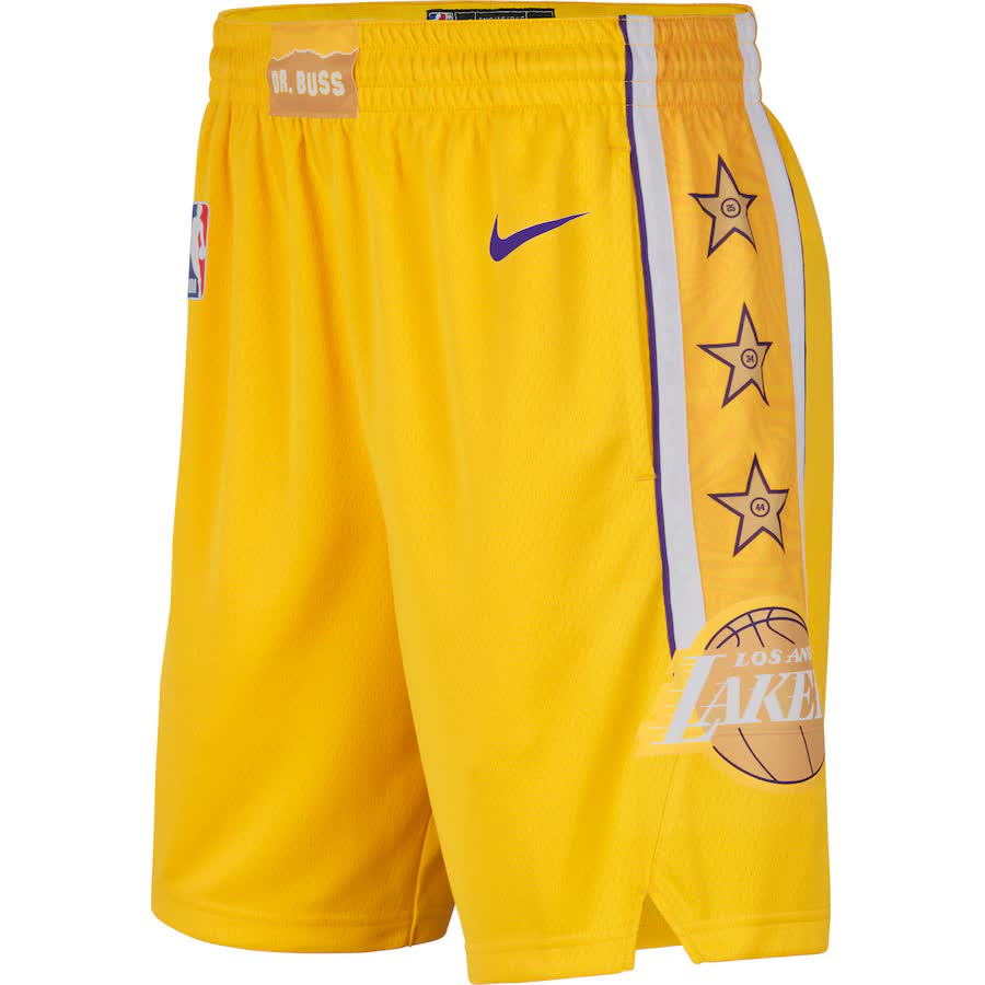 Short Nike Los Angeles Lakers City Edition Swingman Masculino