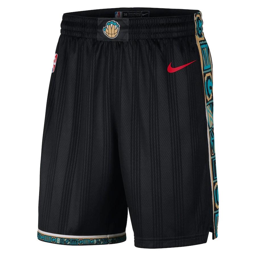 Short Nike Memphis Grizzlies City Edition 2020/21 Swingman Masculino