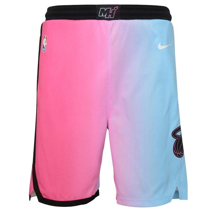 Short Nike Miami Heat City Edition 2020/21 Swingman Masculino
