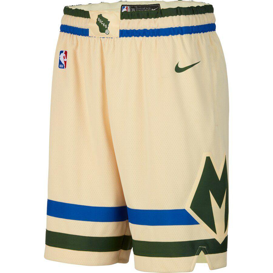 Short Nike Milwaukee Bucks City Edition Swingman Masculino