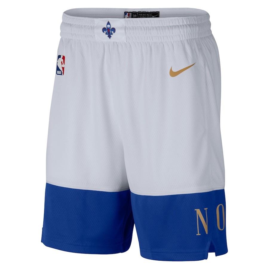 Short Nike New Orleans Pelicans City Edition 2020/21 Swingman Masculino