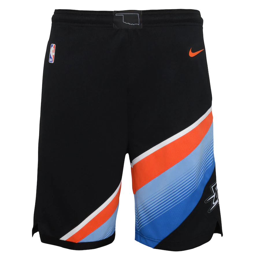 Short Nike Oklahoma City Thunder City Edition 2020/21 Swingman Masculino