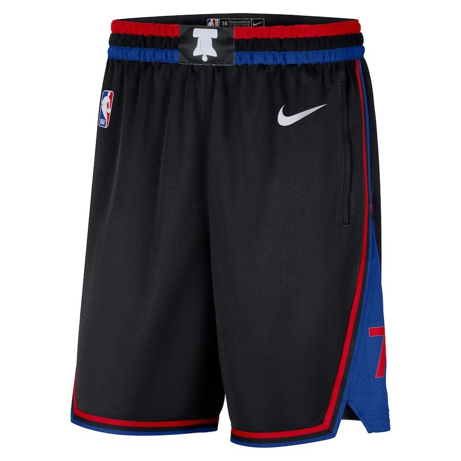 Short Nike Philadelphia 76ers City Edition 2020/21 Swingman Masculino