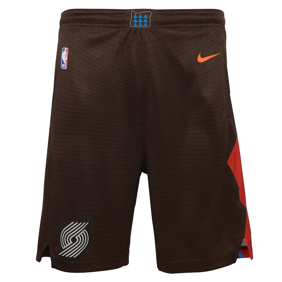 Short Nike Portland Trail Blazers City Edition 2020/21 Swingman Masculino