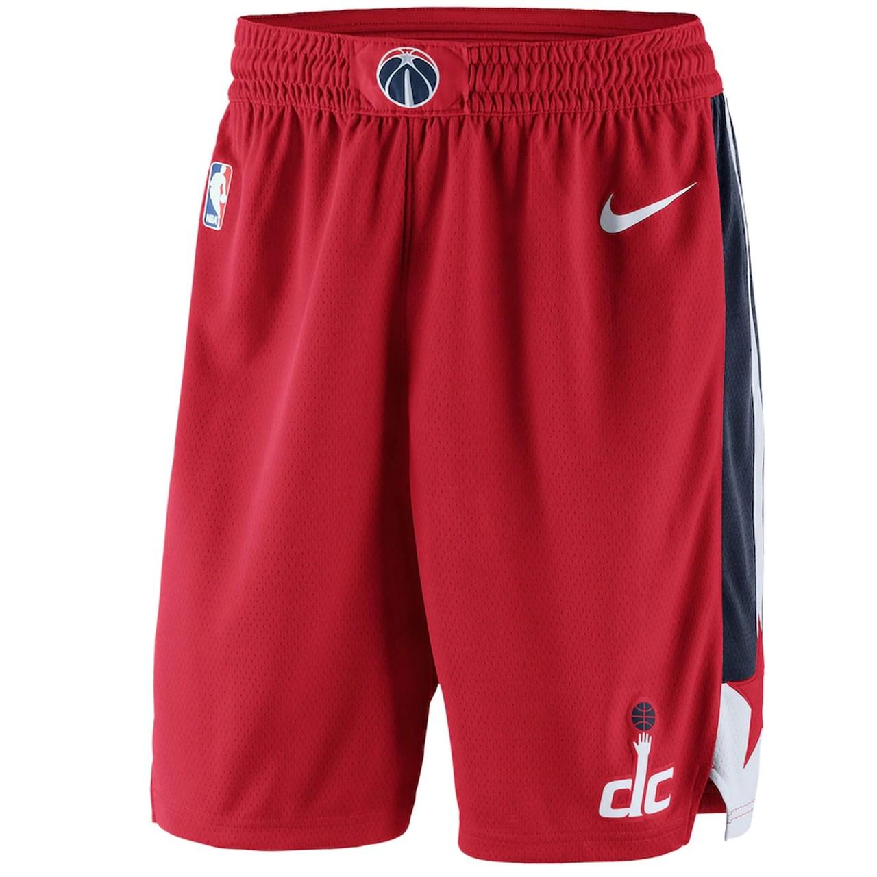 Short Nike Washington Wizards icon Edition Swingman Masculino