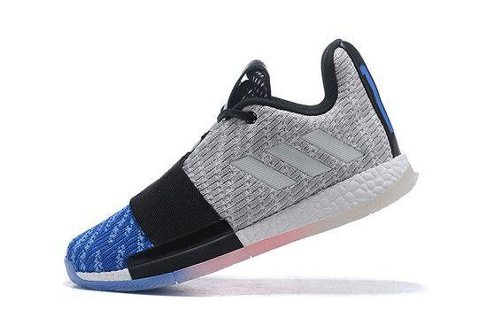 Tênis Adidas Harden Vol. 3 Blue Toe Masculino - Branco/Azul